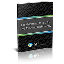 2017 Planning Guide for Live Meeting Technology
