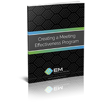 Creating a Meeting Effectiveness Program