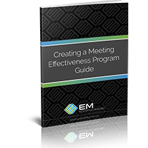 Creating a Meeting Effectiveness Program