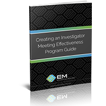 Creating an Investigator Meeting Improvement Program