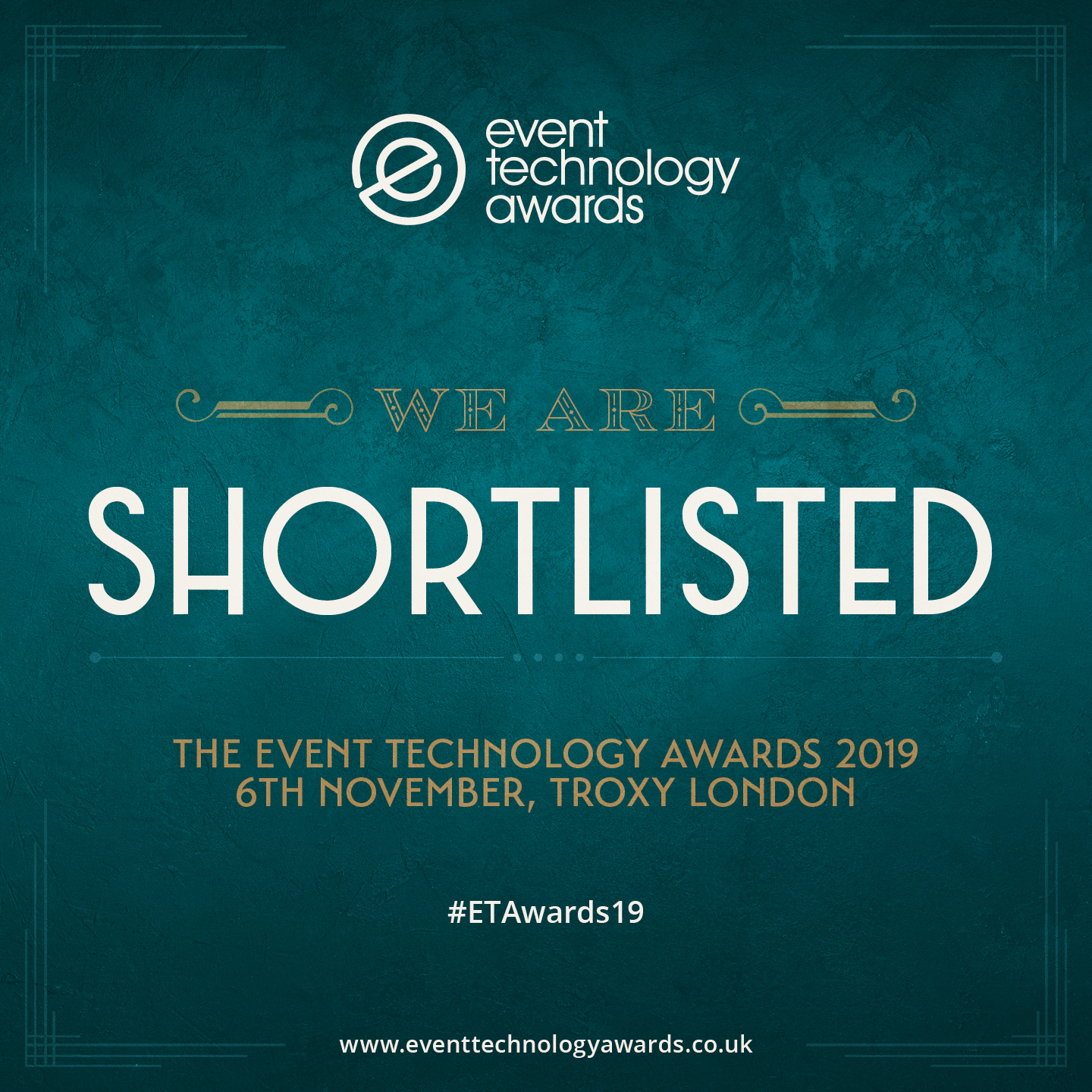 EM Shortlisted for the Event Technology Awards 2019